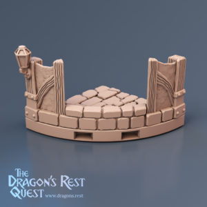 Dungeon Quarter Circle Tiles