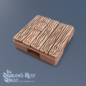 Dungeon Floor Tile (Plank)
