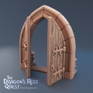 Double Dungeon Door (Stand Alone)
